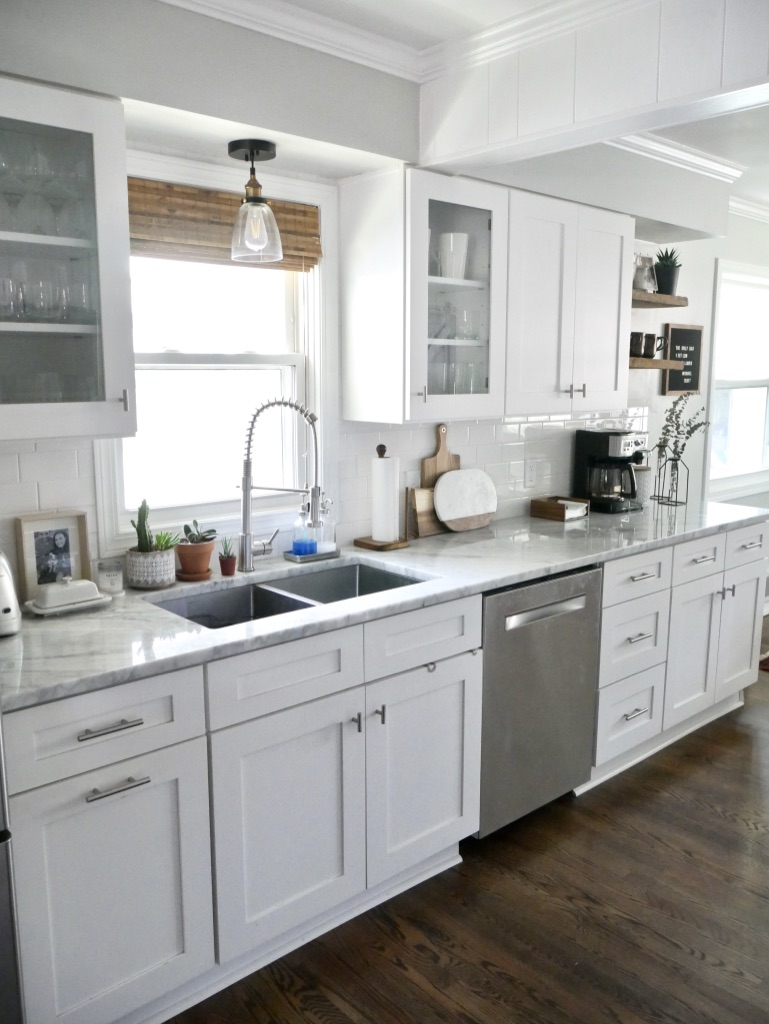 An Honest Review of Carrara Marble Countertops - Sima Spaces
