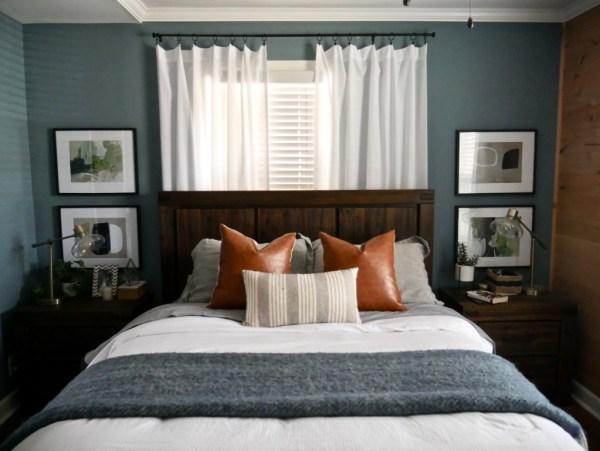 Sima Spaces master bedroom sources, master suite renovation, DIY renovation, shiplap wall