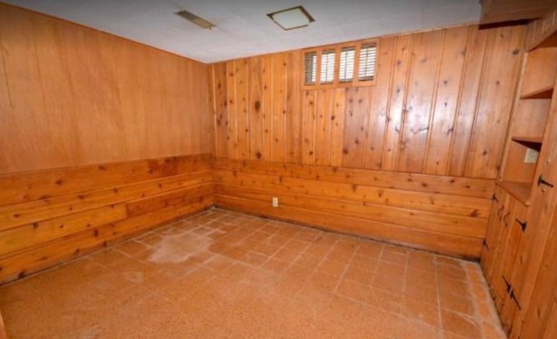 1952 Basement bedroom, pre-demo: Sima Spaces Basement remodel, Spring 2020 ORC