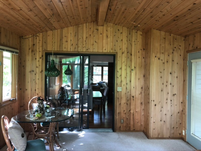 Before view of our porch// Sima Spaces