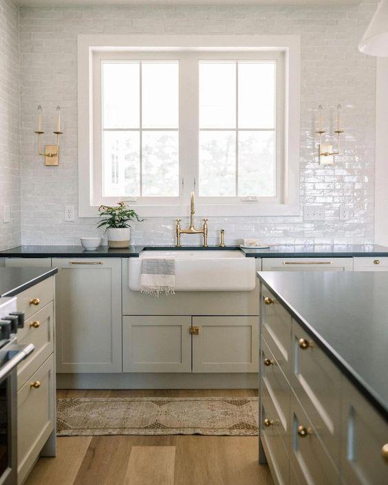 Kitchen Renovation inspiration by Light and Dwell // Sima Spaces kitchen renovation