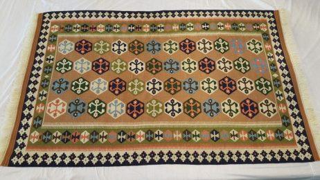 Perzische Kashkay kelim tapijt  195 x 122 cm