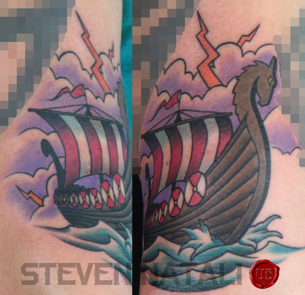 Custom Traditional Viking Ship By Steven Natali At Urban Element