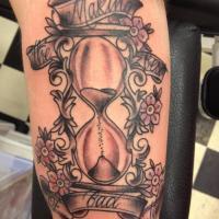 clock tattoos for guys