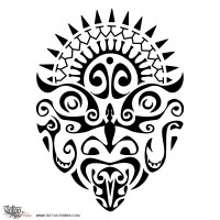 warrior symbol tattoo