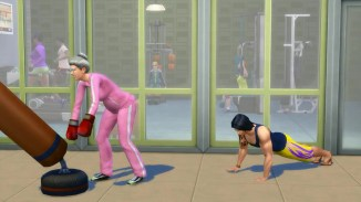 Sims 4 Workout