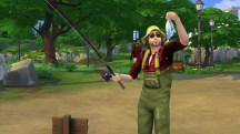 The Sims 4 Fishing