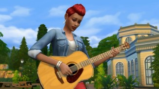The Sims 4_ Acoustic Guitar