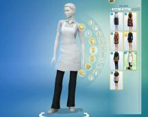 Sims 4 Restaurant Uniform (4)