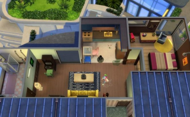 Sims 4 City Living Apartment Units And Objects