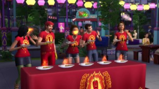 Pepper Eating Contest Sims 4