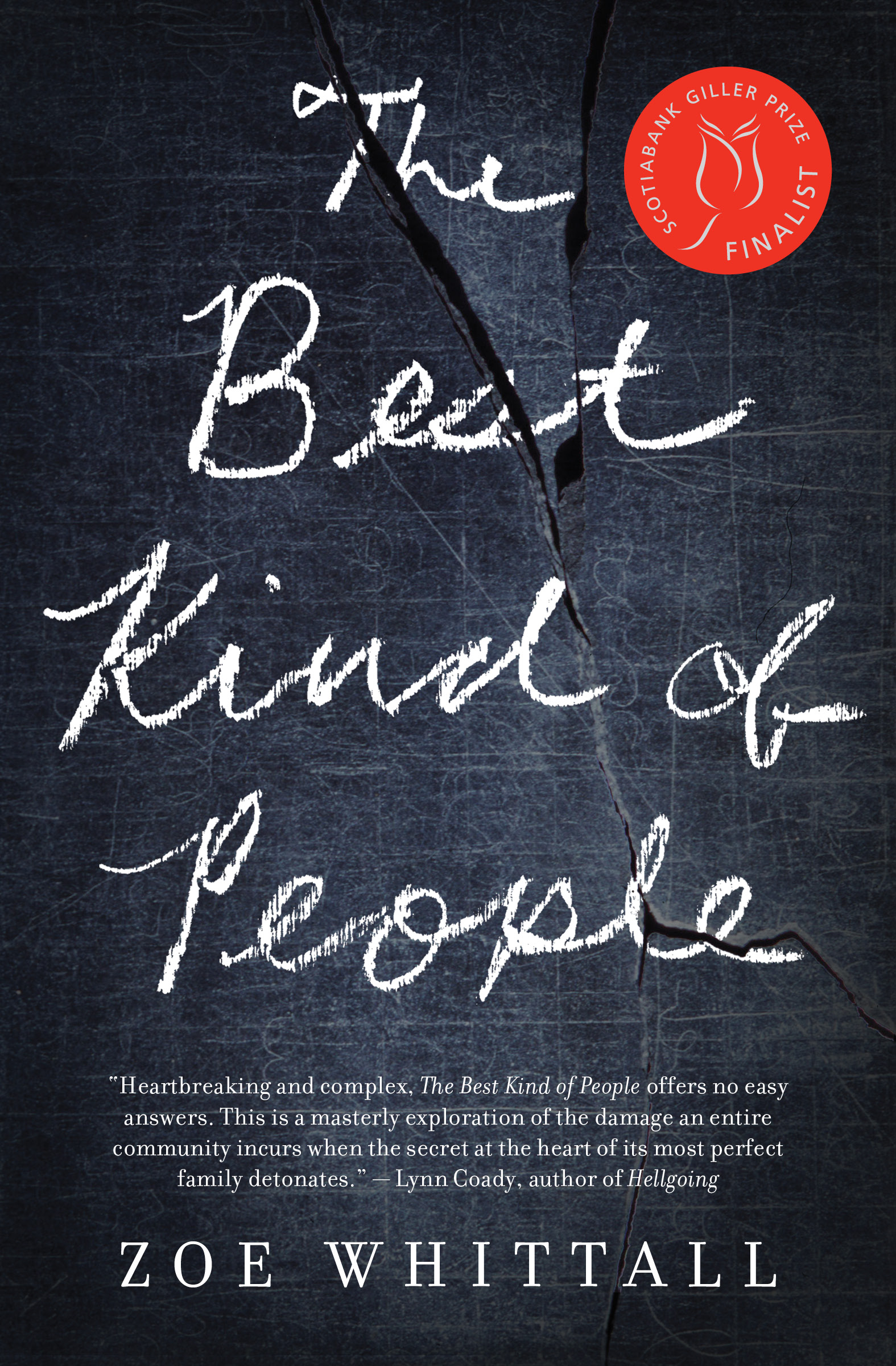 Cover of the book The Best Kind of People by Zoe Whittall