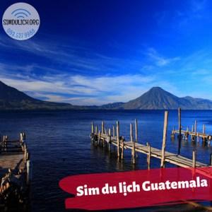 sim du lịch Guatemala