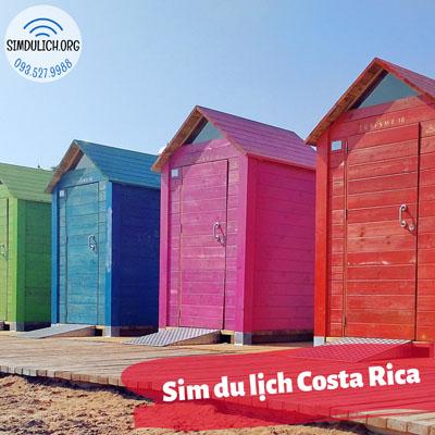 Sim du lịch Costa Rica