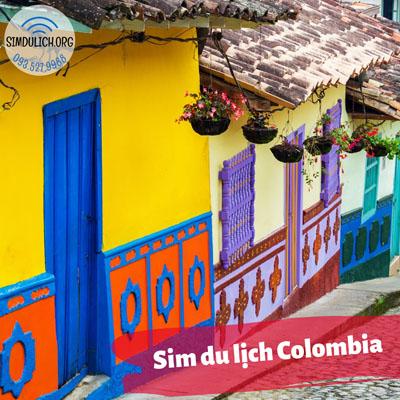 Sim du lịch Colombia