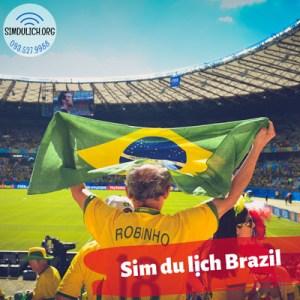 Sim du lịch Brazil