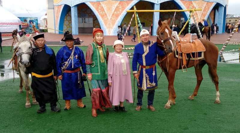 Якутяне успешно выступили на фестивале «Наследие предков» в Казахстане