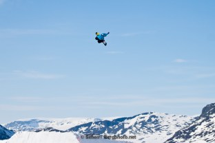 Mads Jonsson in Hemsedal. Photo: Simen Berg