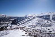 Overview of slopes in Hemsedal. Photo: Simen Berg