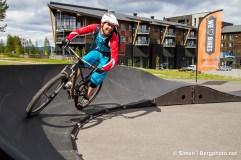 Pump Track, Radisson Blu Trysil. Foto: Simen Berg