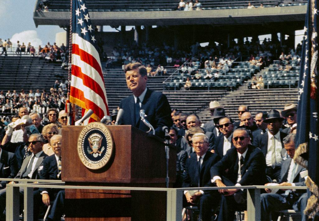 Image of JFK Moon Speech