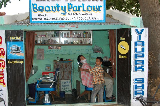 Professor Babul, Away from Astrophysics - being beautified, without fear
