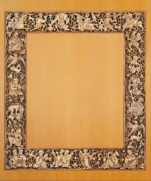The function of these panels with themes from princely life is not known, but the carving of hunters with hawks, musicians and revellers against a background of vine scrolls demonstrates the artistic quality of Fatimid ivory carving at its best and thus may be a ruler's commission for a palace.