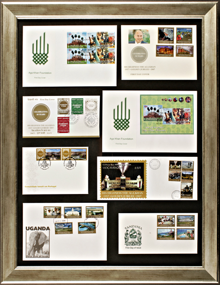 Aga Khan Golden Jubilee First Day Covers