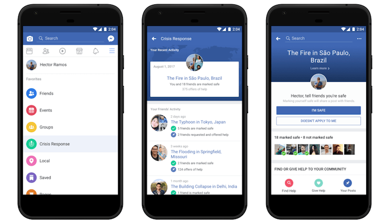 Facebook Crisis Response Centre Unveiled, Brings Safety Check and Community Help Together