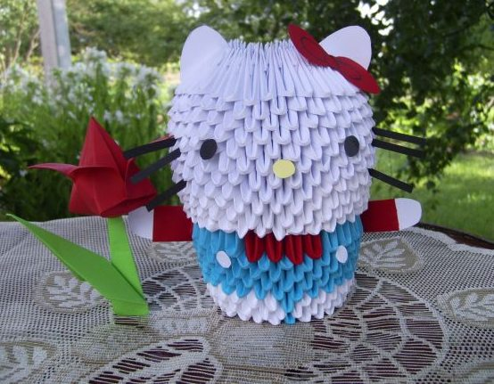 Hello-kitty-origami