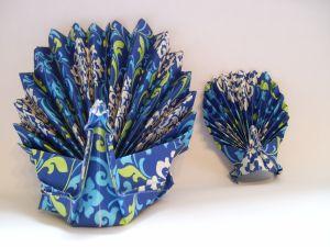 origami povai iš popieriaus