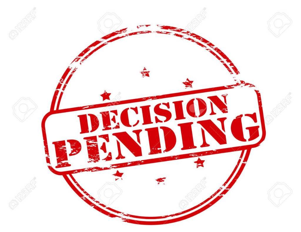 decisiones pendientes