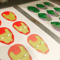 Royal Icing Toppers in Progress