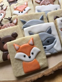 Woodland Critter Cookies