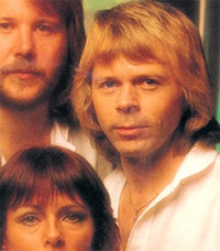 i look like the guy from abba... hmmm