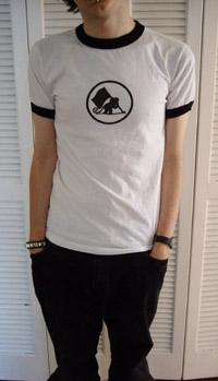 i am sexy in my simianuprising shirt