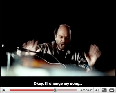 screenshot of youtube video of cuture en peril