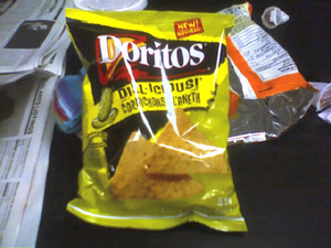 dill-icious dorritos. terrifying