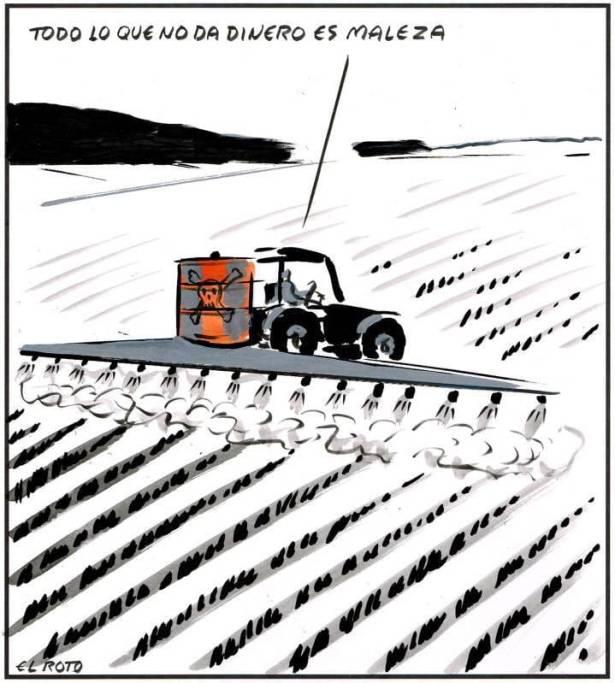 Saquemos del medio a los agronegocios, es hora de encontrar soluciones reales a la crisis climática