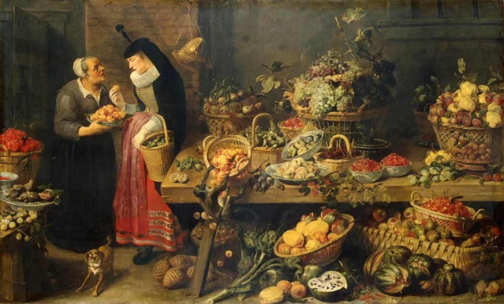 Un biólogo y un historiador rastrean en el arte la evolución de frutas y verduras