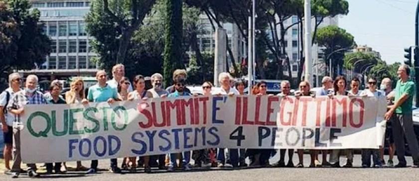Miles de personas se movilizan para pedir sistemas alimentarios que favorezcan a las personas y al planeta, no a las corporaciones