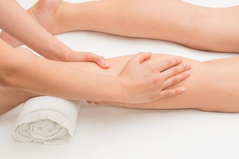 Bienfaits du massage classique jambes