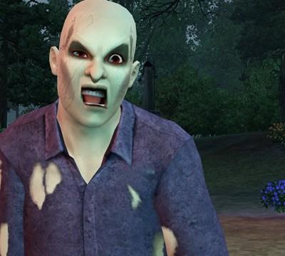 ¡Zombis! Los muertos se alzan y tienen hambre. ¿Podrá alguien detenerlos? Este clásico del cine de terror cobra vida con un giro también clásico del universo de Los Sims.