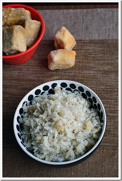 Sweet Beaten Rice / Bajil Bella Tarai