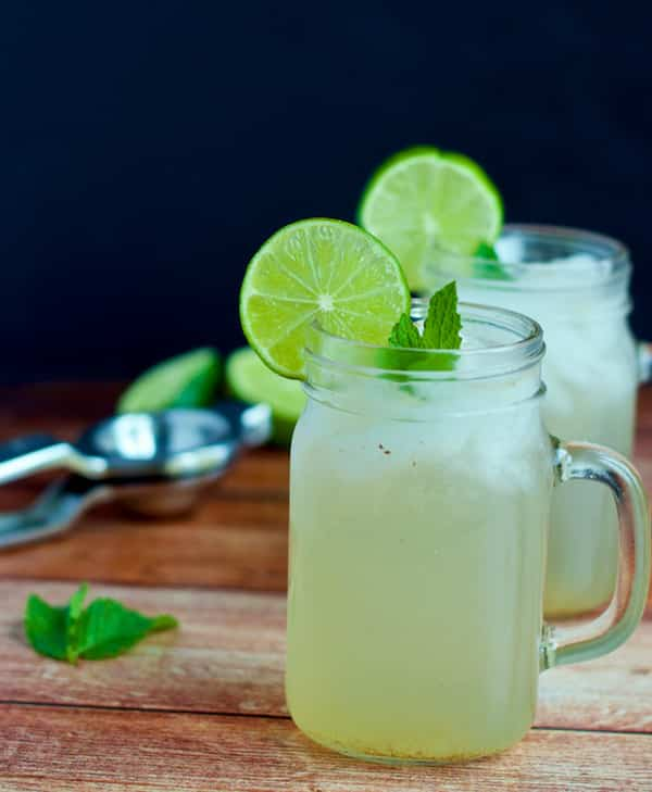 Nimbu Paani or Lemonade is the perfect thirst-quencher for hot summers. Learn how to make Nimbu Paani just like the ones that are served on the streets of Mumbai.