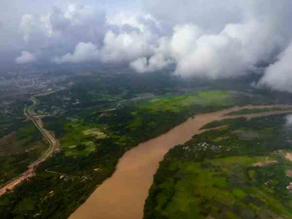 Aerial view of Mangalore