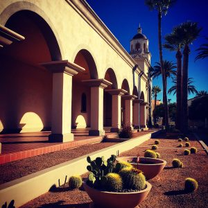 St. Augustine Cathedral in downtown Tucson, Arizona.