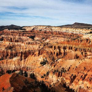Cedar Breaks National Monument sits at over 10,000 feet in elevation.