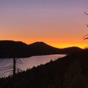 Navajo Lake in southern Utah.