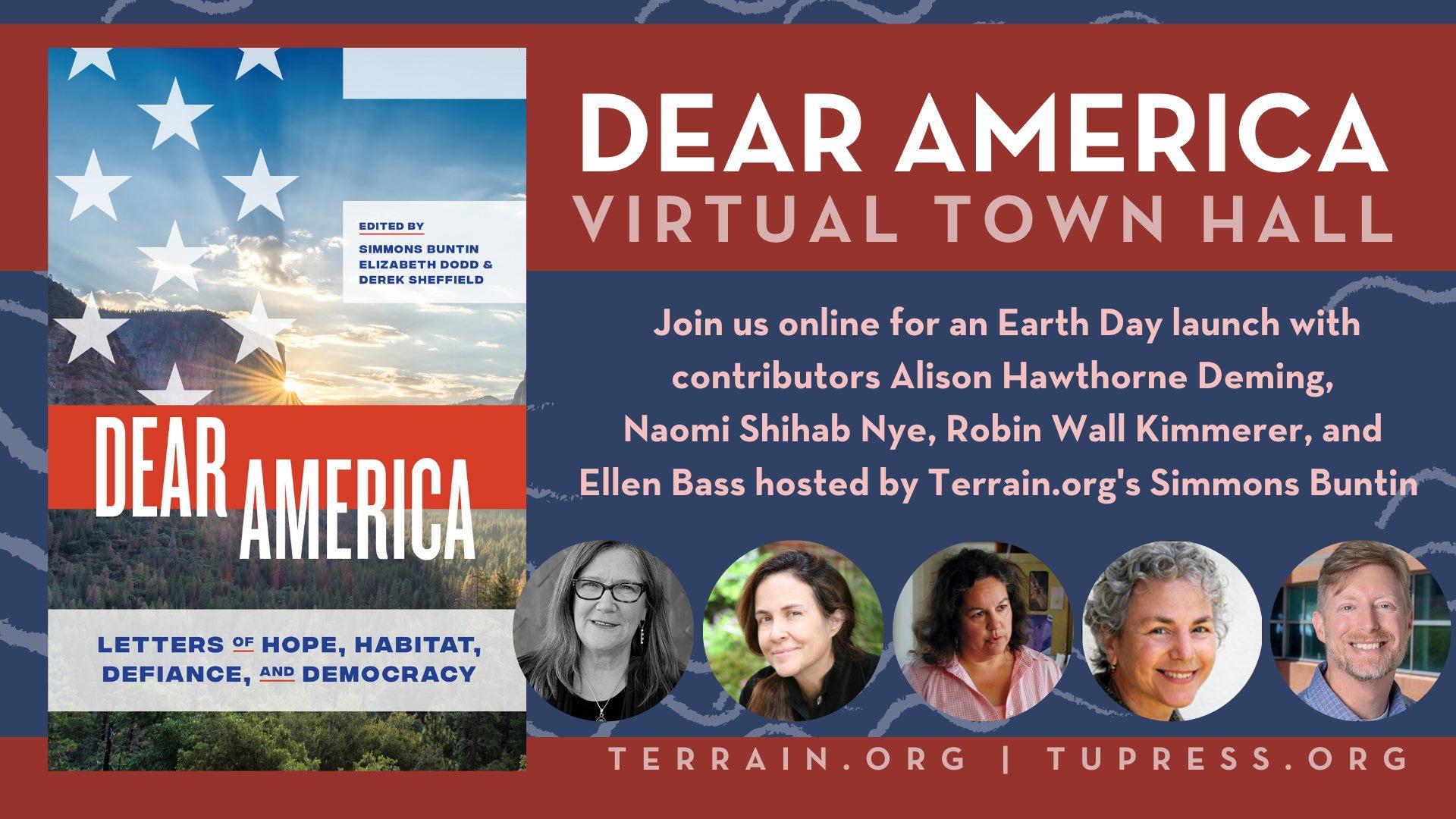 Dear America Virtual Town Hall
